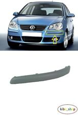 VW POLO 9N 2005 - 2009 NEW FRONT BUMPER MOULDING TRIM PRIMED LEFT N/S PASSENGER