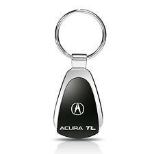 Acura TL Logo Black Tear Drop Key Chain