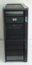 HP Z800 2x Intel Xeon X5550 2.67GHz 48GB DDR3 500GB HDD Quadro FX 3800 No OS