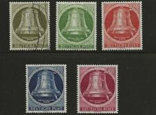 GERMANY BERLIN SC# 9N75-9 MH/USED STAMPS