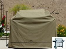 "Premium Tight Weave Heavy Gauge Bbq Grill Cover up to 67"" Long"