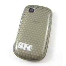 TPU Case Abdeckung grau mit Diamant Muster Case Cover Nokia Asha 200 Asha 201