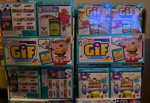 OH MY GIF Blind Mystery BIT Pack GIFS GONE LIVE Animated Figure Series 1 Lot 4!!