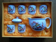 8 pc Chinese Tea Sets - Tea Pot & 6 Cups Original Gift Box