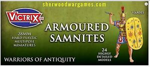 28mm Armoured Samnites By Victrix, Hail Caesar, Swordpoint Ancients