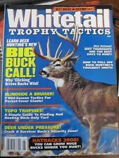 Whitetail Trophy Tactics Magazine 1999 Trophy Best Bucks in History