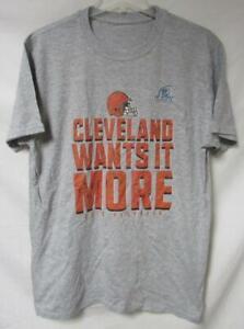Cleveland Browns Men's Size Large 2020 Playoffs T-Shirt A1 3579