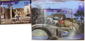 CEPT Albanien Albania  2020 MNH**  Postal Rout Delivery 6 weeks SEE TEXT Set