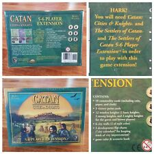New! Settlers of Catan: Cities and Knights 5-6 Player Expansion Pack #3066