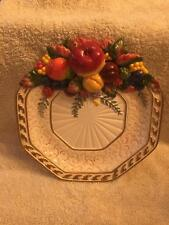 Fitz & Floyd Classics Venezia Fruit Canape Plate
