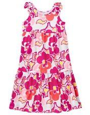 NWT Gymboree Girls Sz 7 - 8 Flowered Maxi Swing Dress New