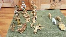 VTG Fontanini Depose Italy Christmas Nativity Set Figurines Jesus + Extras