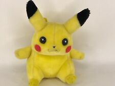 "Hasbro Nintendo Game Freak 1998 Vintage 9"" Pikachu Basic Plush Toy"