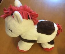 Lucky Baby Plush Horse Rattle 10""