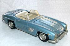 Vintage Tekno 924 Mercedes-Benz 300SL Roadster in Metallic Blue 300 SL
