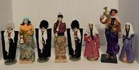 Vintage Greek Traditional Costume Dolls Lot Of 8