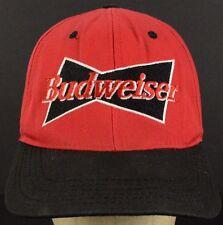 Budweiser Red Baseball Hat Cap and Snapback Strap Adjust