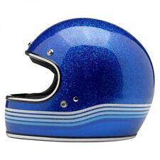 Kleidung, Helme und Schutz für Motorrad in Blau