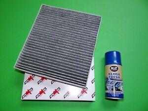 Innenraumfilter / Aktivkohle Pollenfilter + Klimareiniger Volvo S40 II