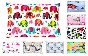 Baby Toddler Kid Boy Girl 100% Cotton Cot Bed Envelope Pillowcase 40x40 40x60cm