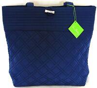 Vera Bradley Tote in Indigo Blue Shoulder Bag Handbag - Brand New with Tags