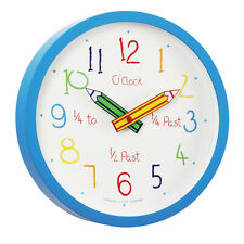 London Clock Children's Nursery Time Teaching Clock 24154