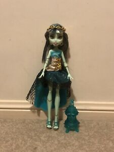 Monster High 13 Wishes Frankie Doll VGC