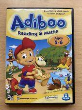 Abiboo Readin & Maths PC CD-ROM Ages 5-6