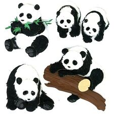 PANDAS Jolee's Boutique Dimensional Stickers 50-20051 Brand NEW! bear zoo animal