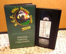 HAROLD BECKETT fellowship Freedom Through Forgiveness VHS sermon 2000 BCF