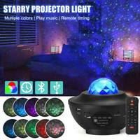 LED Starry Music Projector Star Ocean Wave Night Sky Light Romantic Decor Lamp