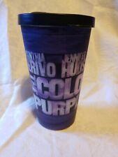 The Color Purple Broadway Reusable Plastic Souvenir Travel Cup & Lid Tumbler