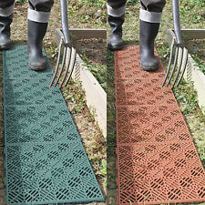 More details for interlocking plastic garden path floor tiles lawn paving walkway patio tiles