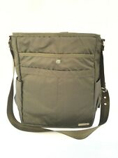 Gravis Nylon Laptop Shoulder/Crossbody Strap Bag Army Green