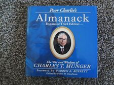 Poor Charlie's Almanack ~ Signed by Charlie Munger from Berkshire Hathaway
