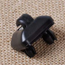 Schwarz Sonnenblende Halterung Clip Haken Kappe für Audi A3 A4 A5 Q5 8U0857562