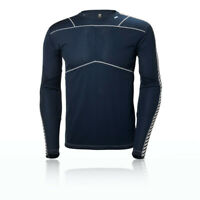 Helly Hansen Mens HH Lifa Crew Top Navy Blue Sports Outdoors Warm