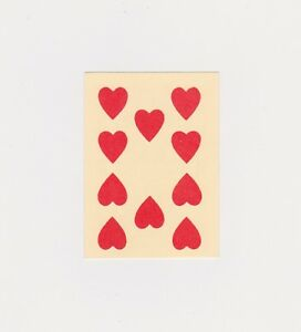 Back To The Future III Film Used Playing Card Prop AFTAL/UACC RD