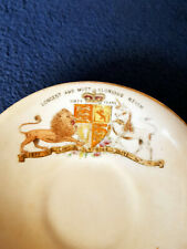 1897 Queen Victoria Diamond Jubilee Souvenir Cup & Saucer by The Foley China. Co