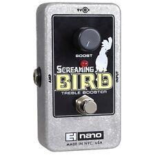 Electro-Harmonix Screaming Bird Treble Booster True Bypass Guitar Effects Pedal