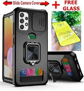 360 Case Full Hybrid Shockproof Combo Card Holder Slot Phone Cover for Samsung
