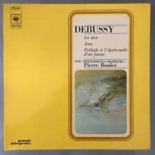 DEBUSSY Prelude a l'Apres-midi d'un Faune CBS S 75533 LP Audiophile