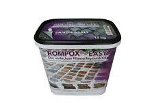 (3,07€/1kg) ROMPOX®-EASY basalt 15Kg Plasterfugenmörtel 1 Komponenten Mörtel