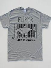FLIPPER T SHIRT Generic Brainbombs SQRM The Germs Bobby Soxx Crass PUNK