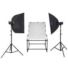 Nanguang LED-Studioset vista a 600 con tavolo di registrazione foto tavolo 100x60cm 3x Lampada