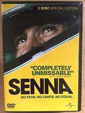 Ayrton SENNA ~ 2010 Brazilian F1 Formula One 1 Racing Documentary UK 2-Disc DVD