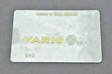 Varig Airlines Validation Plate