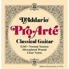 D'Addario EJ45 Guitar Strings Classical Pro-arte Nylon Normal Tension