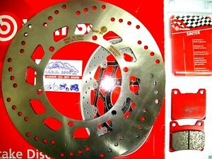 Bremsscheibe Brembo + Beläge Hinten Yamaha 1100 XVS Drag Star 2001 2002 7D0
