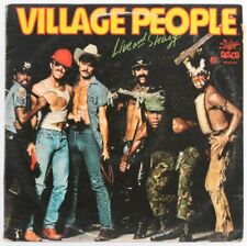 Village People, LIVE AND SLEAZY Vinyle/LP * Utilisé *